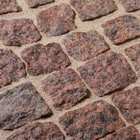 Kostka granitowa Czerwony granit