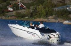 Avant 600, multi-purpose boat for up to 7 person