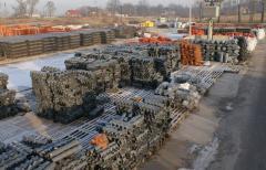 Steel framework for sanitary-engineering