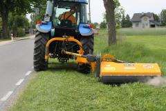 Mowers for roads
