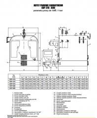 Kotły parowe Carbotherm EKP 270-880