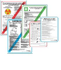 Instrukcje bhp, ppoż., regulaminy