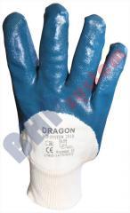 Rękawice Dragon BHP-SYSTEM 2010-częściowo pokryte