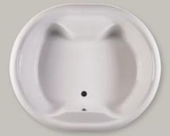 Wanna akrylowa biała PERLA 180x153 cm