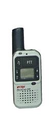 Dwa radiotelefony INTEK MicroCom 446 z akcesoriami
