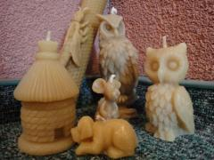 Zestaw pszczelarski dla producentów świec z wosku