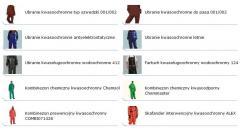Odzież kwasoodporna
