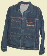 Kurtka typu Jeans