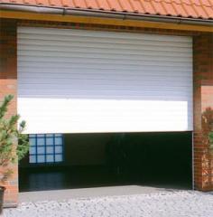 Roller garage gates