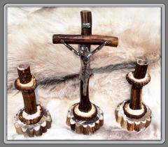 Krzyże z poroża