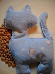 Wiśniowa poduszka dla dziecka