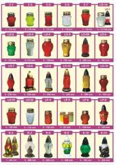 Znicze z katalogu 2012, oraz wykonywane zgodnie z