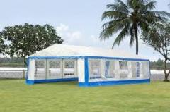 Tents made of lightweight textile