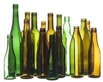 Garrafas de vidro para vinho