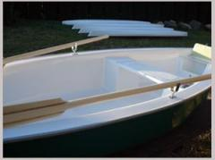 Boats for amateurish fishing and hunting