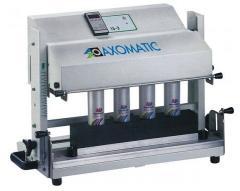 Maszyna półautomatyczna do zgrzewania tubek