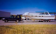 Veneiden ja purjeveneiden kuljetusperävaunut