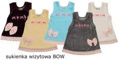 Wizytowe sukienki BOW z kolekcji PUFFY BABY