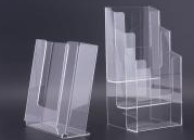 Acrylic promotional stands