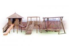 Drewniany plac zabaw P8