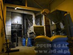 Huller-whitener machines