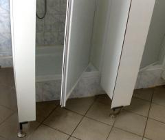 Kabiny sanitarne prysznicowe systemu Basic