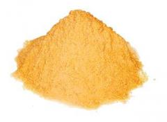 Powder of dried eggs