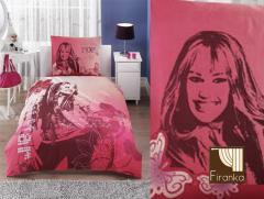 Pościel 100% bawełna 160x200 Hannah Montana