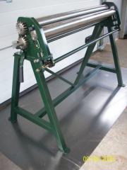 Machine tools bending roller