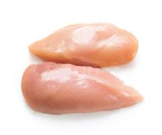 Breasts of chickens