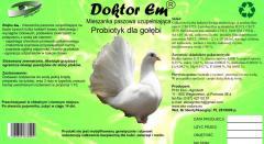 Probiotyk dla gołębi.