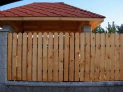 Sztachety drewniane