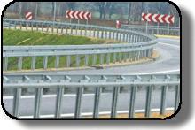 Elementy barier mostowo-drogowych
