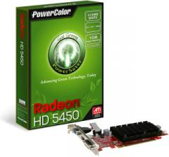 Karty graficzne Powercolor Radeon HD 5450, 512MB