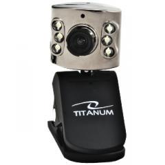 Titanum Kamera Internetowa z Mikrofonem USB TC102