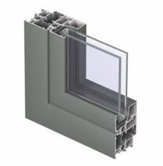 Trójkomorowy system okienno-drzwiowy