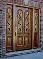Witraże drzwiowe