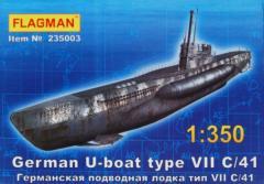 Flagman 235003 - U-boat Type VII C/41 1/350