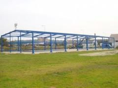 Kompletne konstrukcje stalowe hal