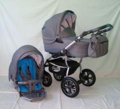 Wózki dziecięce z kolekcji Aston Jeans.