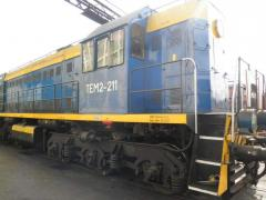 Diesel locomotives for cargo trains, for main