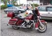 Motocykl Harley-Davidson Electra Glide.