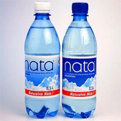 Woda mineralna Nata.