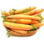 Marchew - smaczne warzywo zawierające wiele witamin.