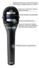 Mikrofon dynamiczny TC-Helicon MP-70