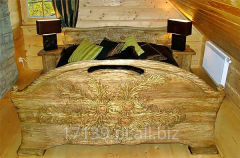 Łóżko Rzeźbione