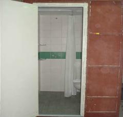 Kabina łazienkowa ze sklejki wodoodpornej
