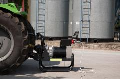 Generators for tractors and self-propelled