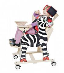Fotelik rehabilitacyjny Zebra