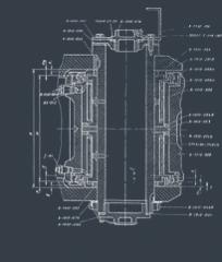 Mecanismos y varias piezas de repuesto